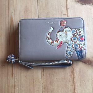 Tory Burch phone wallet wristlet